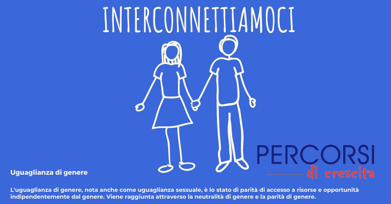 Interconnettiamoci: le differenze di genere.